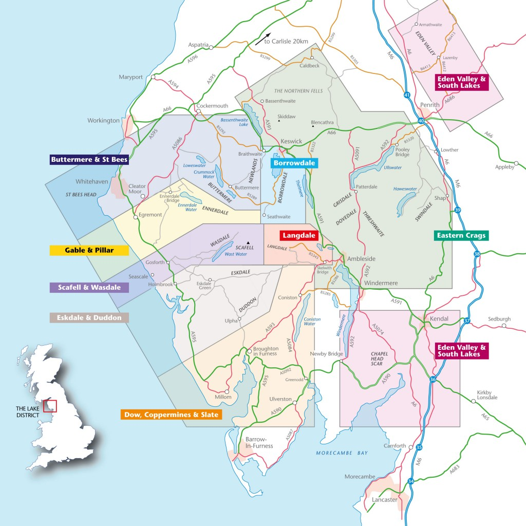 Lake District Areas Access