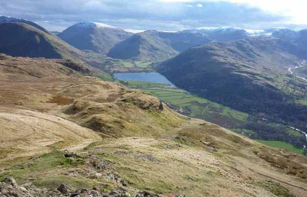 Brotherswater from Angletarn Pikes
