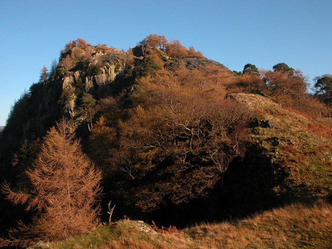 Castle Crag summit