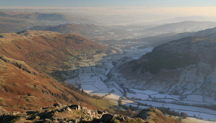 Great Langdale from Harrison Stickle