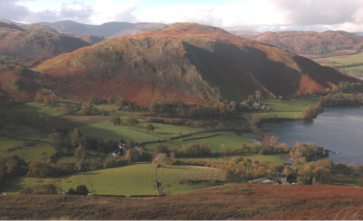 Hallin Fell from Bonscale Pike