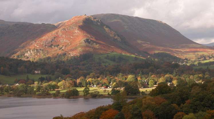 Helm Crag from Loughrigg Terrace