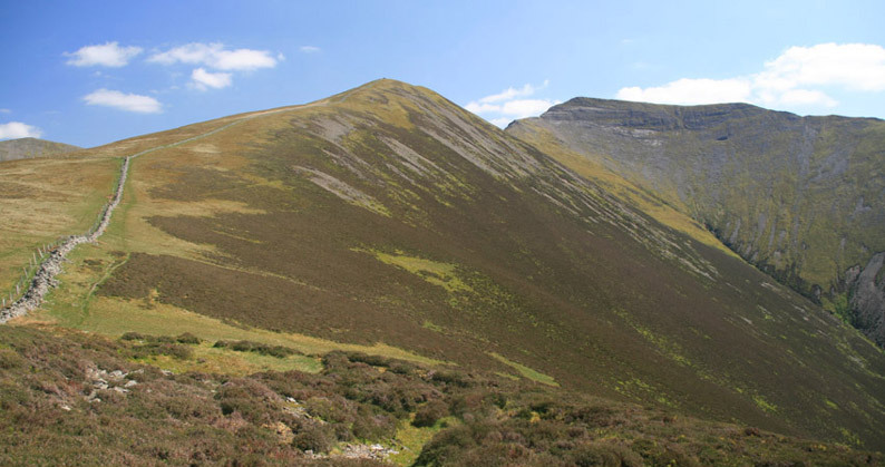 Ladyside Pike and Hopegill Head