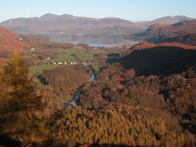 Skiddaw from Castle Crag