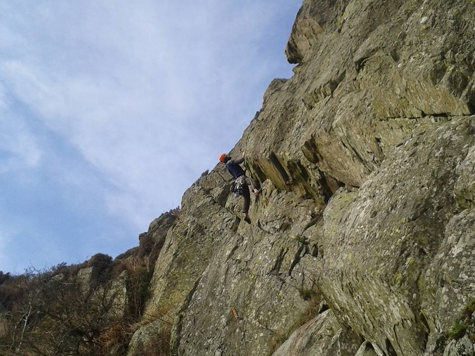 Sky Wall First Ascent.