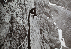 Herford: First ascent of Great Flake crest, Scafell 1914