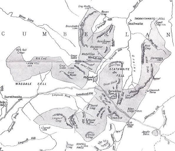 Map of the land purchase